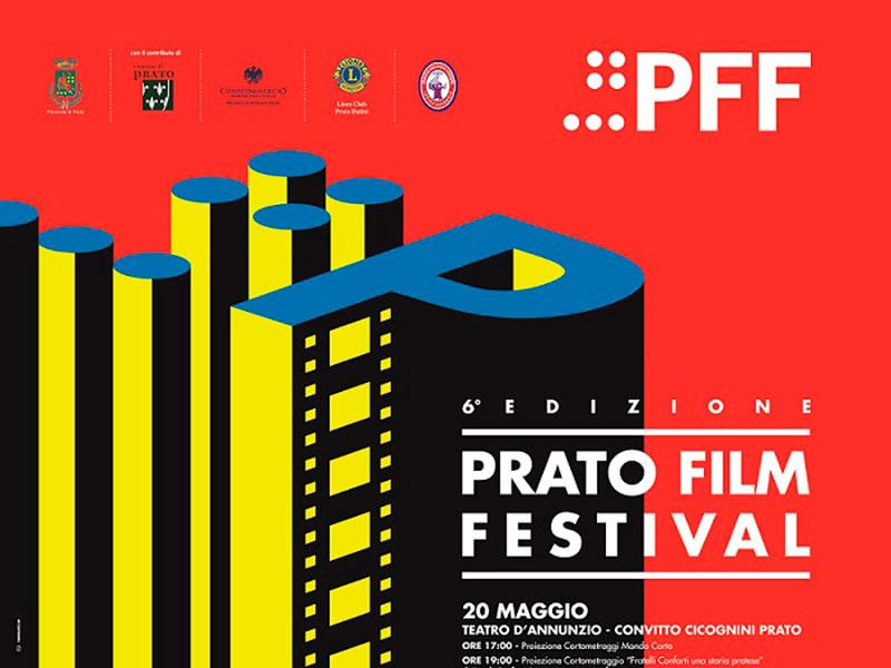 PRATO FILM FESTIVAL locandina rossa