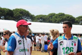 Campionati Europei Junior e Young Rider 2018-CT Fausto Fiorucci