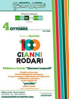 L'attualità di Gianni Rodari al Premio Letterario Una Città Che Scrive-locandina