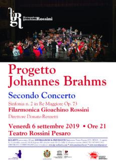 Progetto Johannes Brahms-locandina