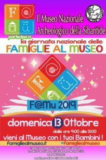 Locandina F@Mu 2019 - Iniziativa Museo Sibaritide