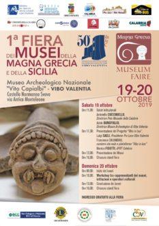 1ª Fiera dei Musei della Magna Grecia e della Sicilia-locandina