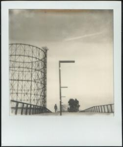 Una Polaroid del fotografo romano Patrizio Cipollini, in mostra a Iso600