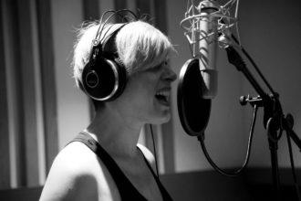 Vanessa Grey in studio-5