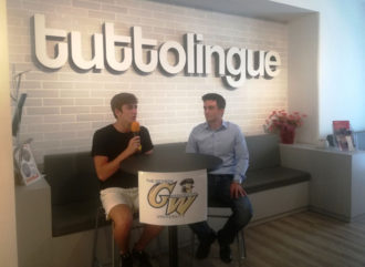 Luca Castorina con Alberto Giuffrida Tuttolingue CT 2020-1