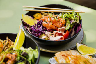 Vintro - Salmon poke bowl