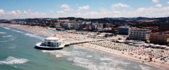 Senigallia - mare rotonda spiaggia