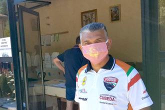 Domenico Cubeda tra gli attesi protagonisti su osella qui al centro accrediti a Gubbio
