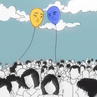 "Bouvet ""Vedi Me"" - La cover è stata ideata da Bouvet e disegnata da Roberto Diatz"