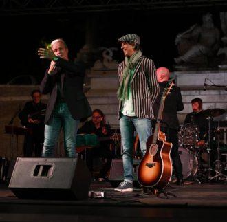 Maurizio Fortini live Piazza del Popolo