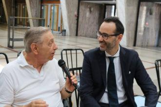 Francesco Redi con Roberto Linguanotto padre nobile del tiramisù