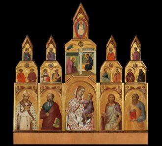 Polittico Lorenzetti dopo il restauro