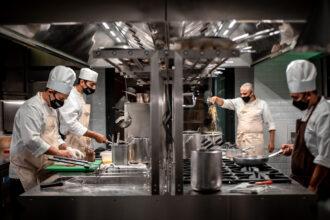 Cucina in azione