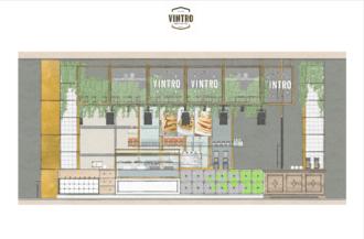Render Vintro Pancake & Waffle House