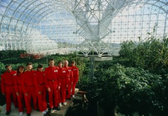 Spaceship Earth - Biosphere 2 Promo Shot Courtesy of Neon