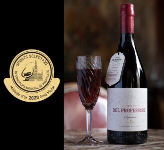 Vermouth Del Professore Superiore al Barolo con Medaglia d'Oro allo Spirit Selection del Concours Mondial de Bruxelles 2020