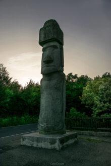 Vitorchiano - Moai - Foto di Carlo Cruciani