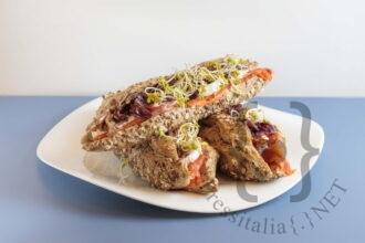 Salsedine - King Salmone selvaggio, bufala, radicchio scottato e olio evo