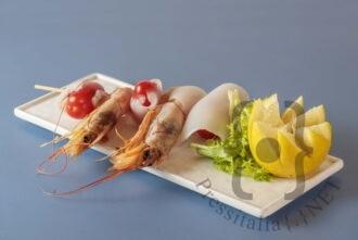 Salsedine - Spiedino di gamberi e calamari