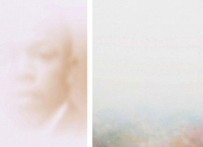 Portrait-of-John-Lewis,-21x29.7-cm,-olio-su-tela,-2020;-Nimble-Est,-100x100-cm,-olio-e-tecniche-miste-su-tela,-2018-cop
