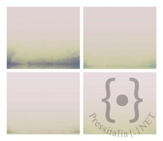 The landscape is inside and outside of man I, 35x50 cm cad., inchiostro e olio su tela, 2020