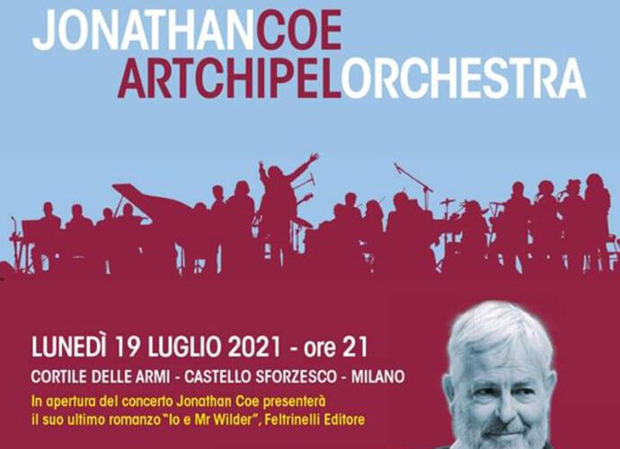 ESTATE-SFORZESCA-Jonathan-Coe-&-Artchipel-Orchestra-il-19-luglio-al-Castello-Sforzesco-di-Milano-cop