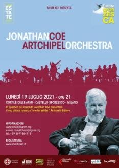 ESTATE-SFORZESCA-Jonathan-Coe-&-Artchipel-Orchestra-il-19-luglio-al-Castello-Sforzesco-di-Milano-in