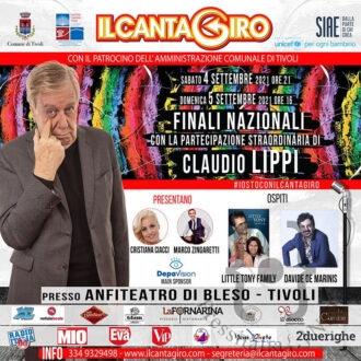 Locandina Cantagiro 2021-in
