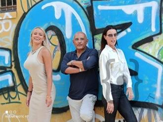I conduttori della serata da sinistraMercedes Hengher Gigio D'Ambrosio, Laura Ghislandi.